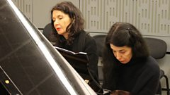 Katia and Marielle Labèque recall their childhood with a lilting lullaby by Fauré
