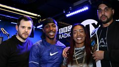 Grim Sickers and JME in Sian's Studio