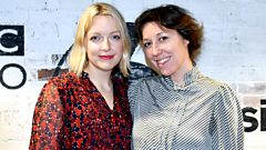 Martha Wainwright in session for Lauren Laverne