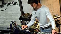 Romare in session for Lauren Laverne