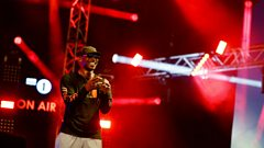 Live Lounge - Skepta at Big Weekend 2016