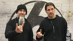 """We are so lucky to do what we do, we truly love it"" - Anthrax talk to Mark Radcliffe"