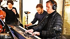 Watch Max Richter and the 12 Ensemble perform in the 6 Music Live Room