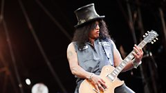 "Slash: ""When I first saw AC/DC it was on TV and I was like WOW check this out!"""