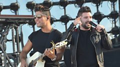 Ahead of this year's C2C Festival Dan & Shay join Bob in our Nashville studio