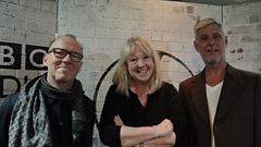 Liz was joined by Mick and Robbie from Modern English