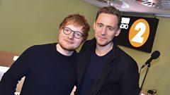 How did Tom Hiddleston hear Ed Sheeran's album a whole year before us?