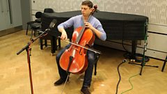 Pizz. with pizzazz: 1 minute of cello shredding