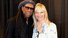 """Look for opportunity in non-traditional settings"" - Nile Rodgers offers advice to young musicians"