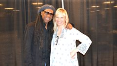 "Nile Rodgers on his new ""amazing"" song with Blondie!"