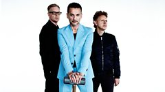 Is Depeche Mode's Dave Gahan intimidated by smaller gigs?