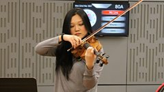 Blissful tranquillity: Emily Sun plays Debussy