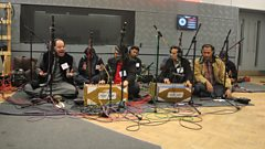 Listen to Rizwan-Muazzam Qawwali Group in session for World on 3