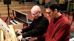 PC music meets early music - Danny L Harle and Pawel Siwczak in Session