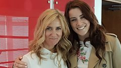 Eurovision's Lucie Jones learns Ukrainian with Eleri Sion (yes, really)