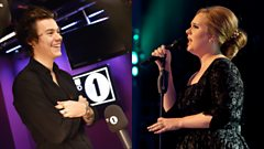 Did Adele inspire Harry Styles's solo career with a surprise birthday present?