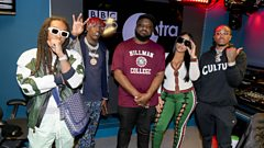 'Always in the plan to be the biggest in the world' Migos, Lil' Yachty & Stefflon Don talk with Ace
