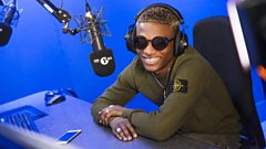 Afrobeats Wizkid chats with Ace