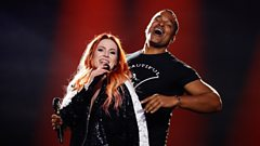 Valentina Monetta & Jimmie Wilson (San Marino) perform 'Spirit Of The Night'