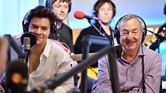 Nick Mason from Pink Floyd wants to play drums on a track for Harry Styles