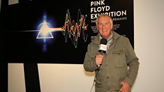 Johnnie Walker visits the Pink Floyd exhibition at The V&A