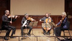 "The 19th-century string quartet written ""for a later age"""