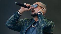Sean Paul - Radio 1's Big Weekend 2017 Highlights