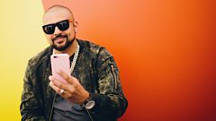 Backstage with Sean Paul