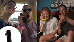 Zara Larsson's surprise phonebox call