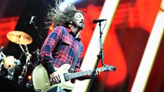 The hardest man in rock? Dave Grohl looks back at the time he broke his leg live on stage