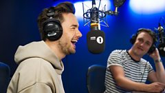 Liam Payne reveals the weird world of pop song ad-libs