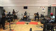 Listen to Mokoomba in session for World on 3