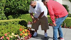 """I ain't ashamed to love flowers"" - Gardening tips with DJ Khaled"