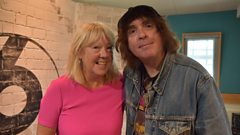 Liz was joined in the studio by Icicle Works front man Ian McNabb