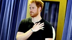 Prince Harry has been making music with The Killers