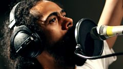 Where does Damian Marley get all his energy from?