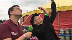 Wilko Johnson interviewed at Lakefest