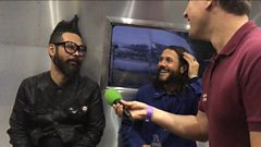 Feeder interviewed at Lakefest