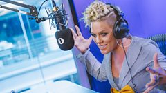 """I haven't been fired out of a cannon yet""- P!nk's aiming for the ultimate stage entrance"