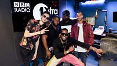 Afrobeats star D'Banj & The Fedz on BBC Radio 1Xtra