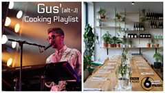 Gus of alt-J's Cooking Playlist