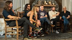 Foo Fighters talk life, music and headlining Glastonbury with Clara Amfo