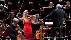 Encore! Anne-Sophie Mutter dazzles in the Gigue from Bach's Partita in D minor (2017)