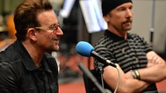 "Edge: ""U2 albums never get finished, just released!"""