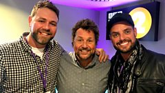 How did Brian McFadden help Keith Duffy with his vocals?