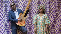 Listen to Amadou & Mariam in session for World on 3