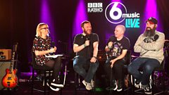"""It's the musings of a Hebridean pensioner"" -  Mogwai chat to Lauren Laverne about their new record"