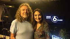 Robert Plant discusses his new album Carry Fire and BBC 6 Music Live with Clare Crane
