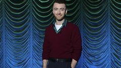 Sam Smith is all set to make an entrance at his BBC exclusive