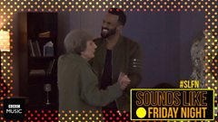 Craig David gets grilled by Greg's fake granny
